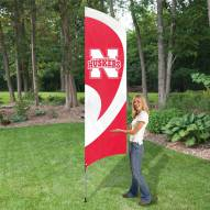 Nebraska Cornhuskers NCAA Tall Team Flag