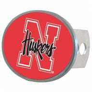 Nebraska Cornhuskers Oval Hitch Cover