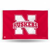 Nebraska Cornhuskers 3' x 5' Banner Flag