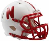 Nebraska Cornhuskers Riddell Speed Mini Replica Football Helmet
