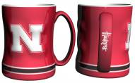 Nebraska Cornhuskers Sculpted Relief Coffee Mug