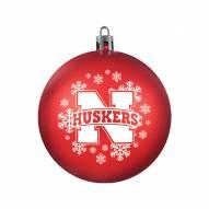 Nebraska Cornhuskers Shatterproof Ball Ornament