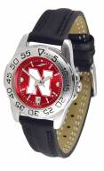 Nebraska Cornhuskers Sport AnoChrome Women's Watch