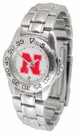 Nebraska Cornhuskers Sport Steel Women's Watch