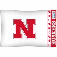 Nebraska Cornhuskers Pillow Case