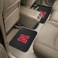 Nebraska Cornhuskers Vinyl 2-Piece Rear Floor Mats