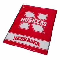 Nebraska Cornhuskers Woven Golf Towel