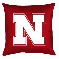 Nebraska Cornhuskers NCAA Locker Room Toss Pillow