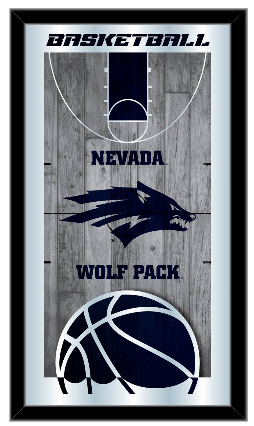 Nevada Wolf Pack Basketball Mirror