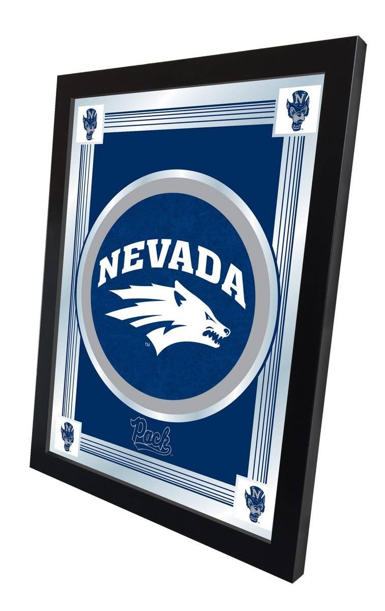 Nevada Wolf Pack Logo Mirror