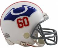 New England Patriots 1960 Riddell VSR4 Mini Replica Football Helmet