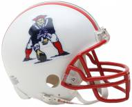 New England Patriots 90-92 Riddell VSR4 Mini Replica Football Helmet