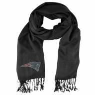 New England Patriots Black Pashi Fan Scarf