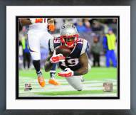 New England Patriots Brandon LaFell 2014 Action Framed Photo