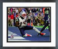 New England Patriots Brandon LaFell Touchdown Super Bowl XLIX Framed Photo