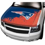 New England Patriots Car Hood Cover