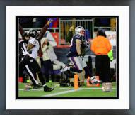 New England Patriots Danny Amendola Touchdown Catch 2014 Playoff Action Framed Photo