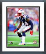 New England Patriots Darrelle Revis 2014 Action Framed Photo