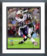 New England Patriots Deoin Branch SuperBowl XXXIX Action Framed Photo