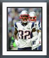 New England Patriots Devin McCourty Super Bowl XLIX Framed Photo