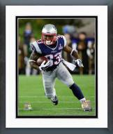 New England Patriots Dion Lewis 2015 Action Framed Photo