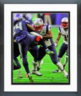 New England Patriots Dont'a Hightower Super Bowl XLIX Action Framed Photo