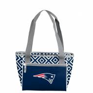 New England Patriots Double Diamond Cooler Tote