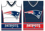New England Patriots Double Sided Jersey Flag