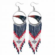 New England Patriots Dreamcatcher Earrings
