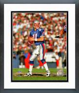 New England Patriots Drew Bledsoe Action Framed Photo