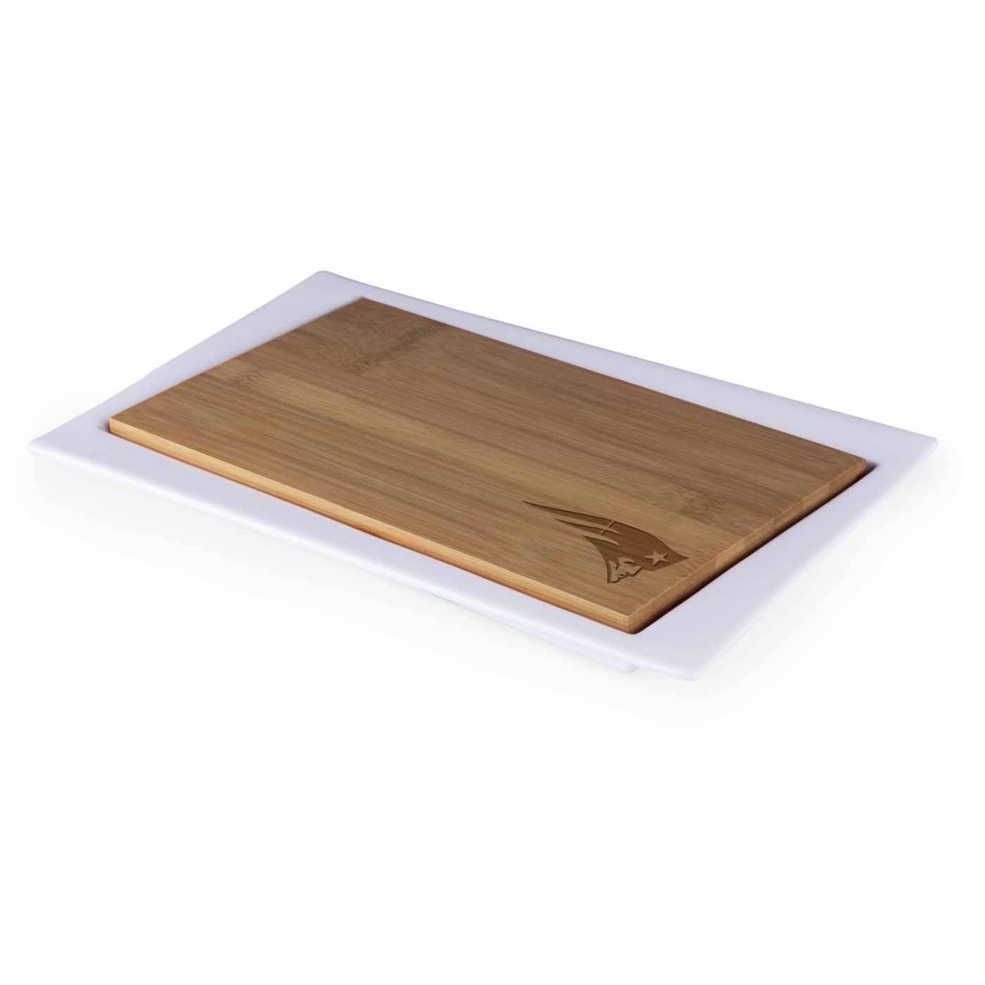 New England Patriots Enigma Cutting Board Serving Tray