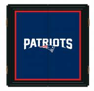 New England Patriots Extreme Fan Dartboard Cabinet Set