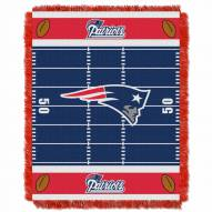 New England Patriots Field Baby Blanket