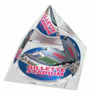 New England Patriots Gillette Stadium Crystal Pyramid