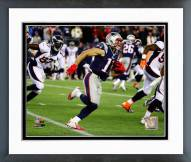New England Patriots Julian Edelman 2014 Action Framed Photo