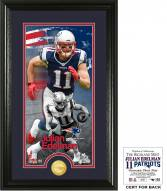 New England Patriots Julian Edelman Supreme Bronze Coin Panoramic Photo Mint