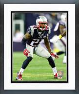 New England Patriots Malcolm Butler 2015 Action Framed Photo