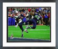 New England Patriots Malcolm Butler Interception Super Bowl XLIX Framed Photo