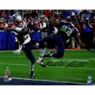 "New England Patriots Malcolm Butler Super Bowl 49 INT Signed 16"" x 20"" Photo"