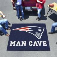 New England Patriots Man Cave Tailgate Mat