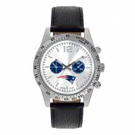 New England Patriots Men's Letterman Watch