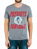New England Patriots Men's Touchdown Tri-Blend Tee