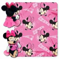 New England Patriots Minnie Mouse Throw Blanket