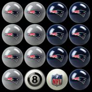 New England Patriots NFL Home vs. Away Pool Ball Set