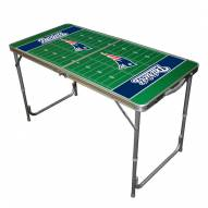 New England Patriots NFL Outdoor Folding Table