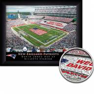 New England Patriots Personalized Framed Stadium Print