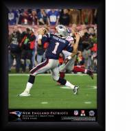 New England Patriots Personalized NFL Action QB Framed Print
