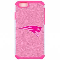 New England Patriots Pink Pebble Grain iPhone 6/6s Case