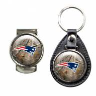 New England Patriots RealTree Key Chain & Money Clip