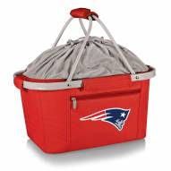 New England Patriots Red Metro Picnic Basket